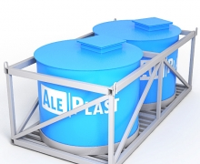 Кассета для перевозки воды 6000х2