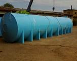 Накопительная бочка 50 м3 для питьевой воды